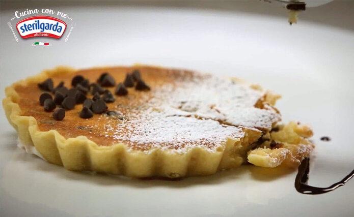 マスカルポーネとリコッタのチョコチップミニタルト