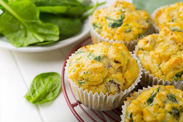 リコッタチーズと野菜のマフィン