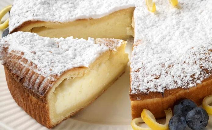 リコッタチーズのパイ