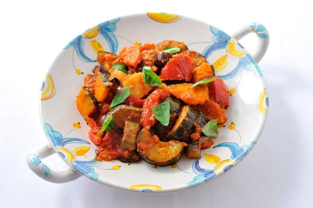 チャンフォッタ(ナポリ風野菜の煮込み)