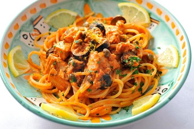 ツナとレモンのスパゲッティ