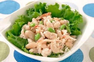 白いんげん豆のサラダ