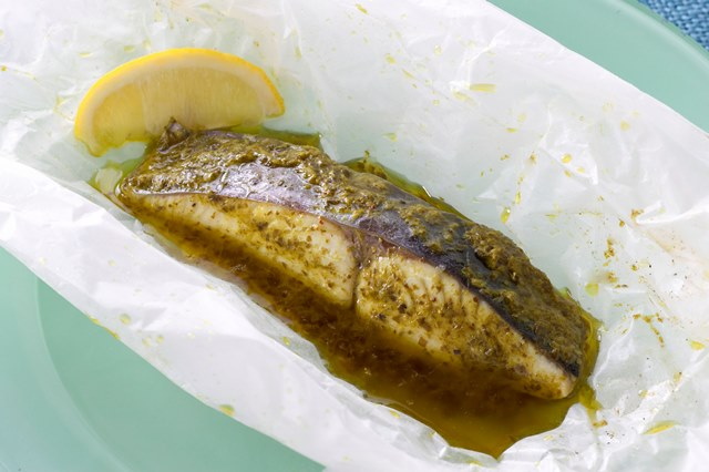 白身魚のカルトッチョ