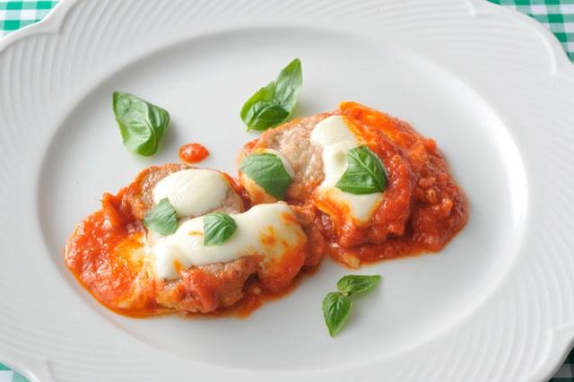 豚肉のソテー トマトソース