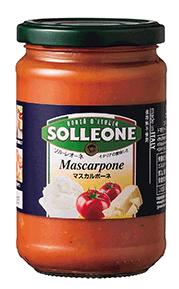 ソル・レオーネ トマトソース マスカルポーネ