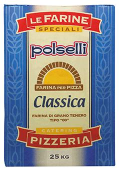 ポルセッリ ピザ用小麦粉クラッシカ  25Kg