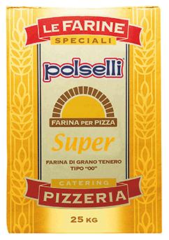 ポルセッリ ピザ用小麦粉 スーペル 25Kg