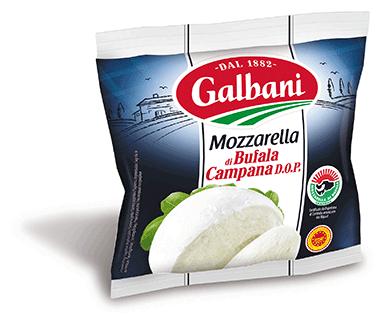 ガルバーニ モッツァレラ ディ ブッファラ カンパーナ D.O.P 125g