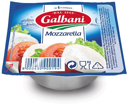 ガルバーニ モッツァレラ ノンウォーター 125g
