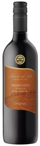 Bricco al Sole Primitivo ブリッコ・アル・ソーレ プリミティーヴォ