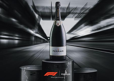 37915<strong>FERRARIが大きな快挙! イタリア産として史上初Formula 1®公式スパークリングワインに!</strong>