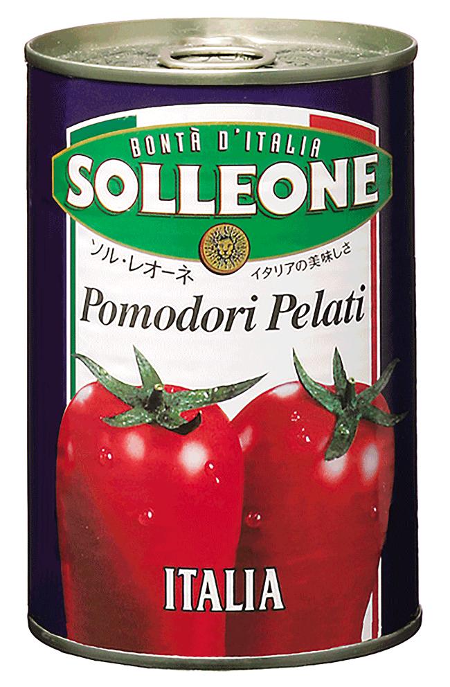 ソル・レオーネ ホールトマト 400g
