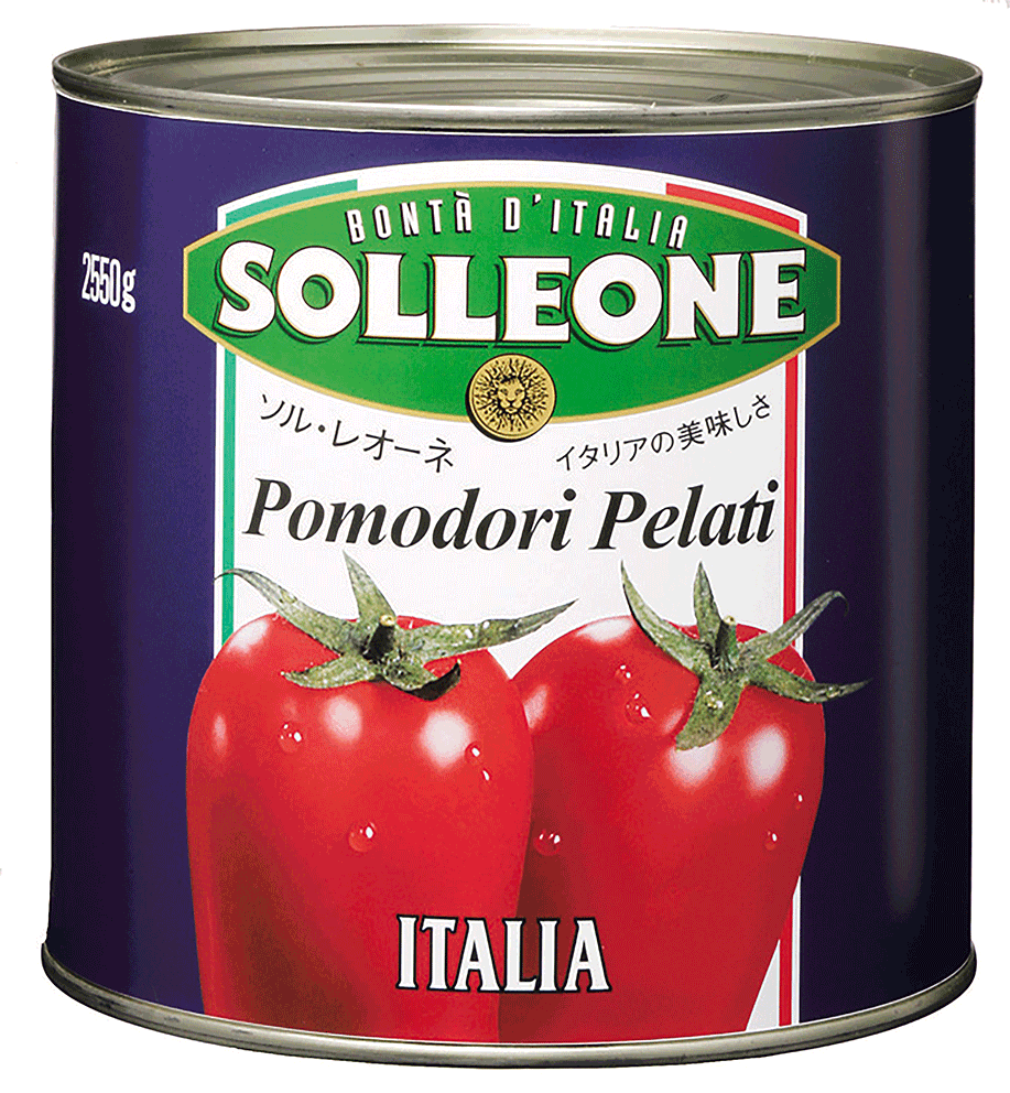 ソル・レオーネ ホールトマト 2550g