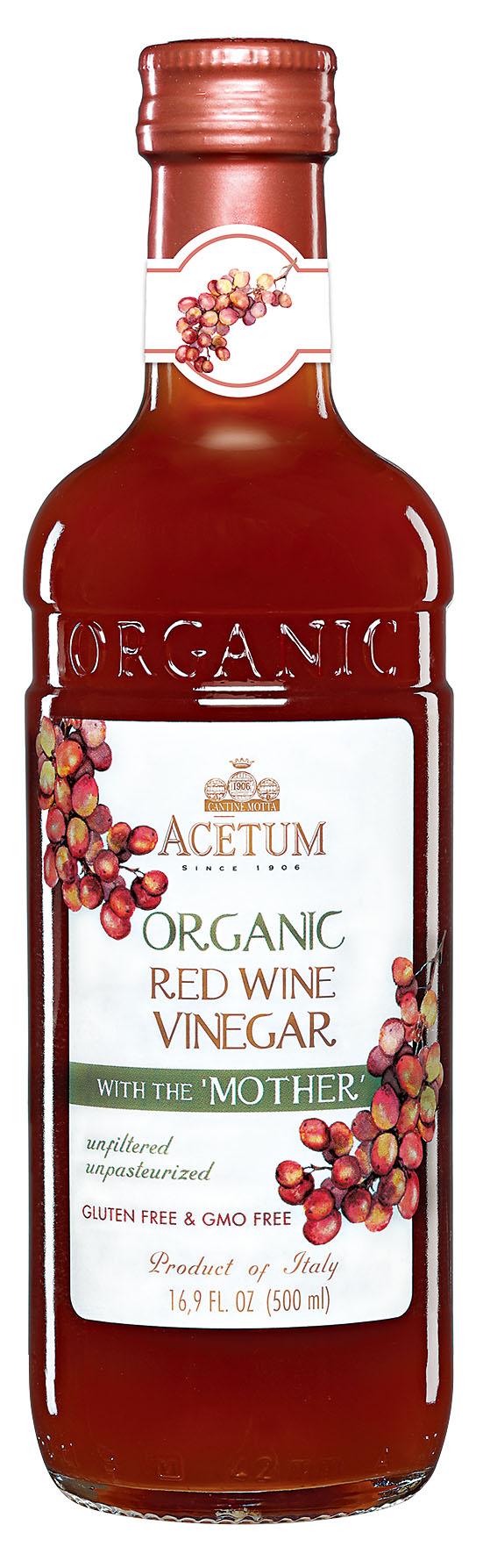 アチェートゥム オーガニック・赤ワインビネガー 500ml