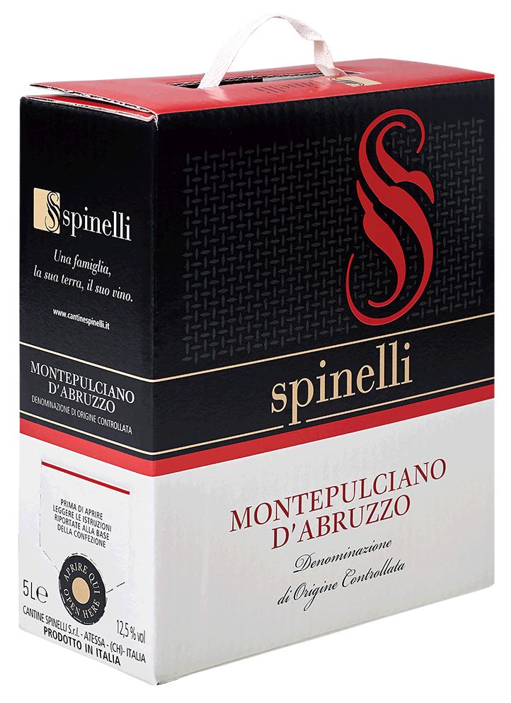 Montepulciano d'Abruzzo DOC (Bag in Box) モンテプルチアーノ・ダブルッツォ BIB 5L