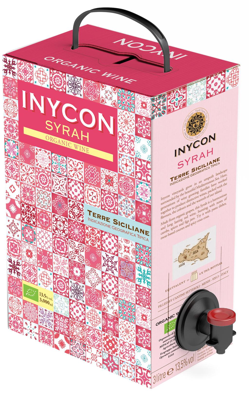 Kameya Inycon Organic Syrah 3L カメヤ イニコン オーガニックシラー3L